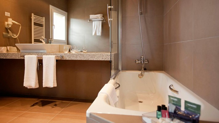 Cuarto de baño habitación estándar