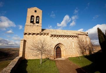 La iglesia de Sánsoain