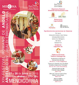 Festival romano Andelos 2015